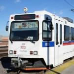 Picture of light rail train